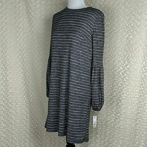 Maggy London dress. Black and grey